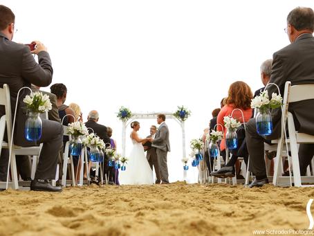 Nicole & Jeff's NJ Beach Wedding