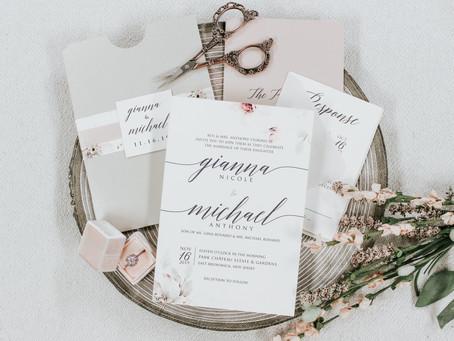 Wedding Invitations- Selecting Invitations