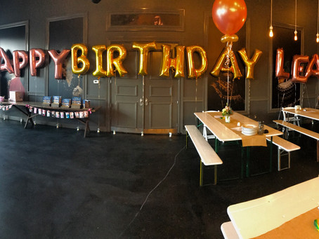 Leah's First Birthday Party