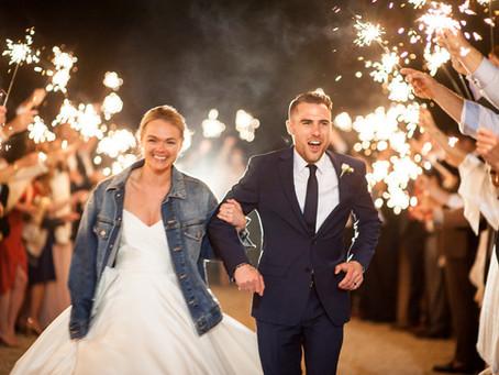Kylie & Christian's Vineyard Wedding