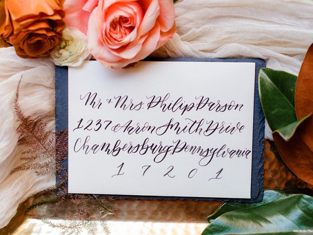 Wedding Invitations- Preparing to Send