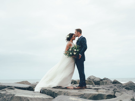 Jessica & Bill's NJ Beach Wedding