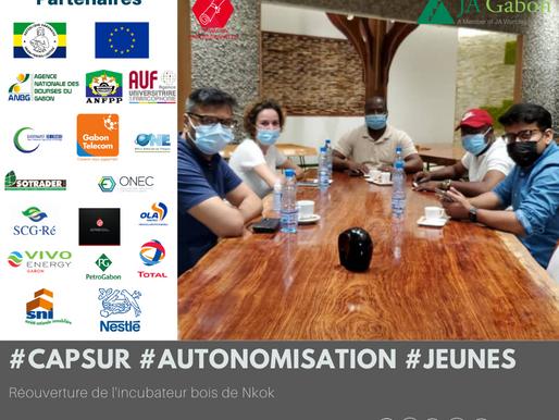 «Cap sur l'autonomisation des jeunes» : Réflexion sur la réouverture de l'incubateur bois de Nkok