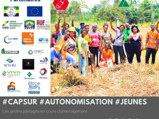 «Cap sur l'autonomisation des jeunes » les jardins partagés en  cours d'aménagement