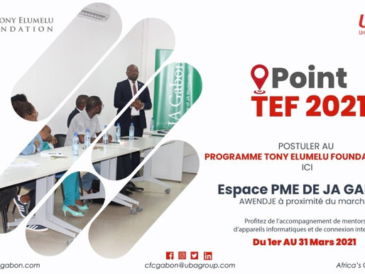 « Espace PME » : inscription au programme Tony Elumelu Foundation