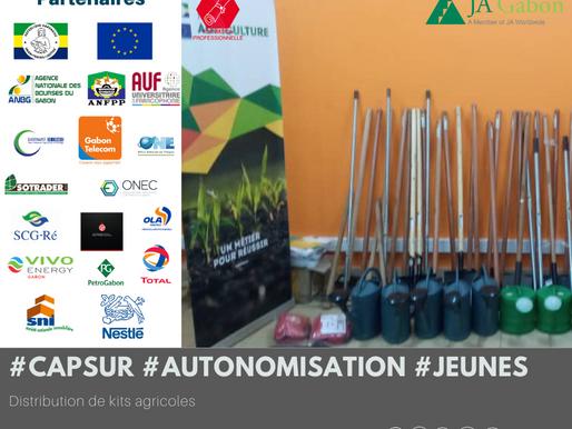 « Cap sur l'autonomisation des jeunes» : Distribution de kits agricoles