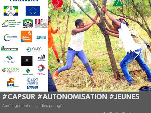 «Cap sur l'autonomisation des jeunes » dernière étape de l'aménagement des jardins partagés