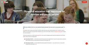 Workshops about money services that can be requested by schools for free