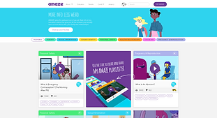 Amaze takes the awkward out of sex ed.  Real info in fun, animated videos about sex, your body and relationships.