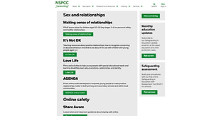 Teaching resources by the NSPCC