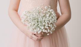 """Bella"" Flower Girl Bridal Bouquet"