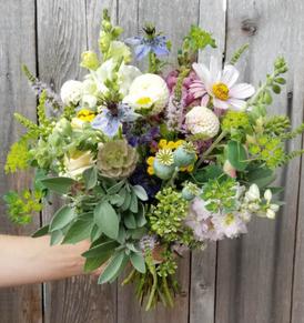 """Samantha"" Summer Bridal Bouquet"