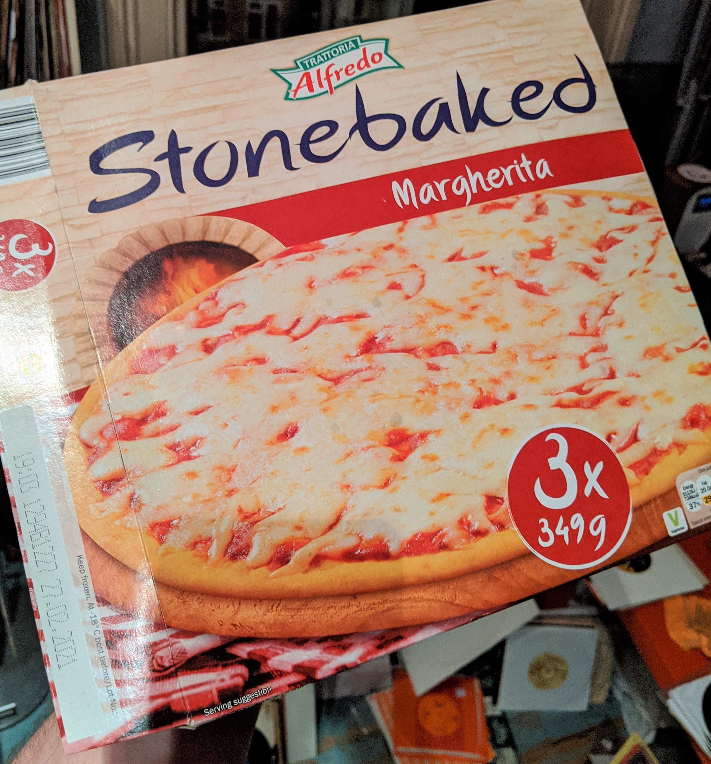 Alfredo Stone Baked Cheese