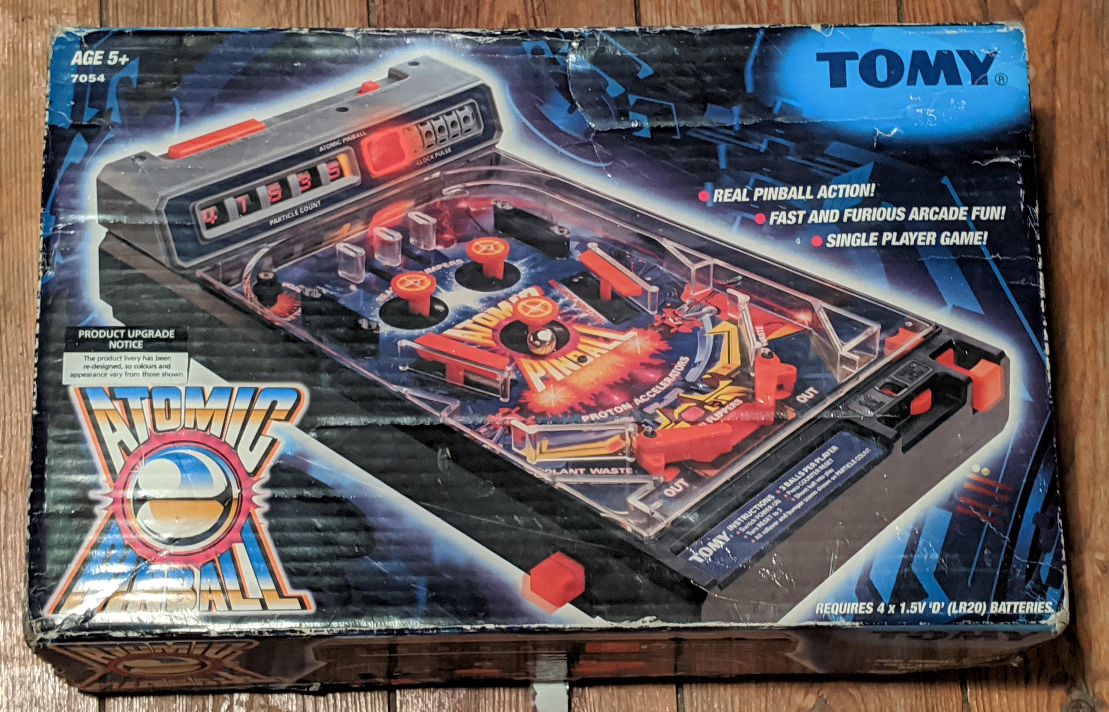 Atomic Pinball Box