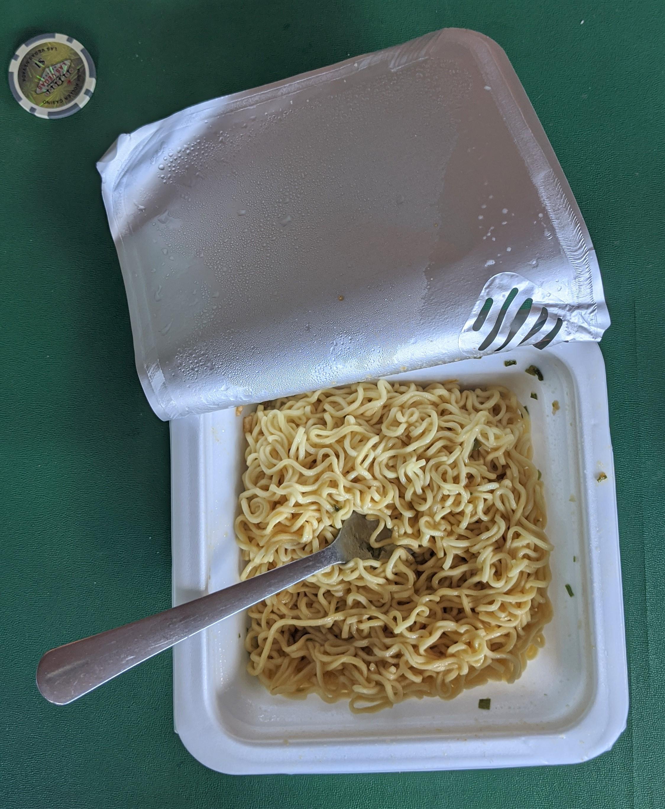 Pringles Noodles Prepared
