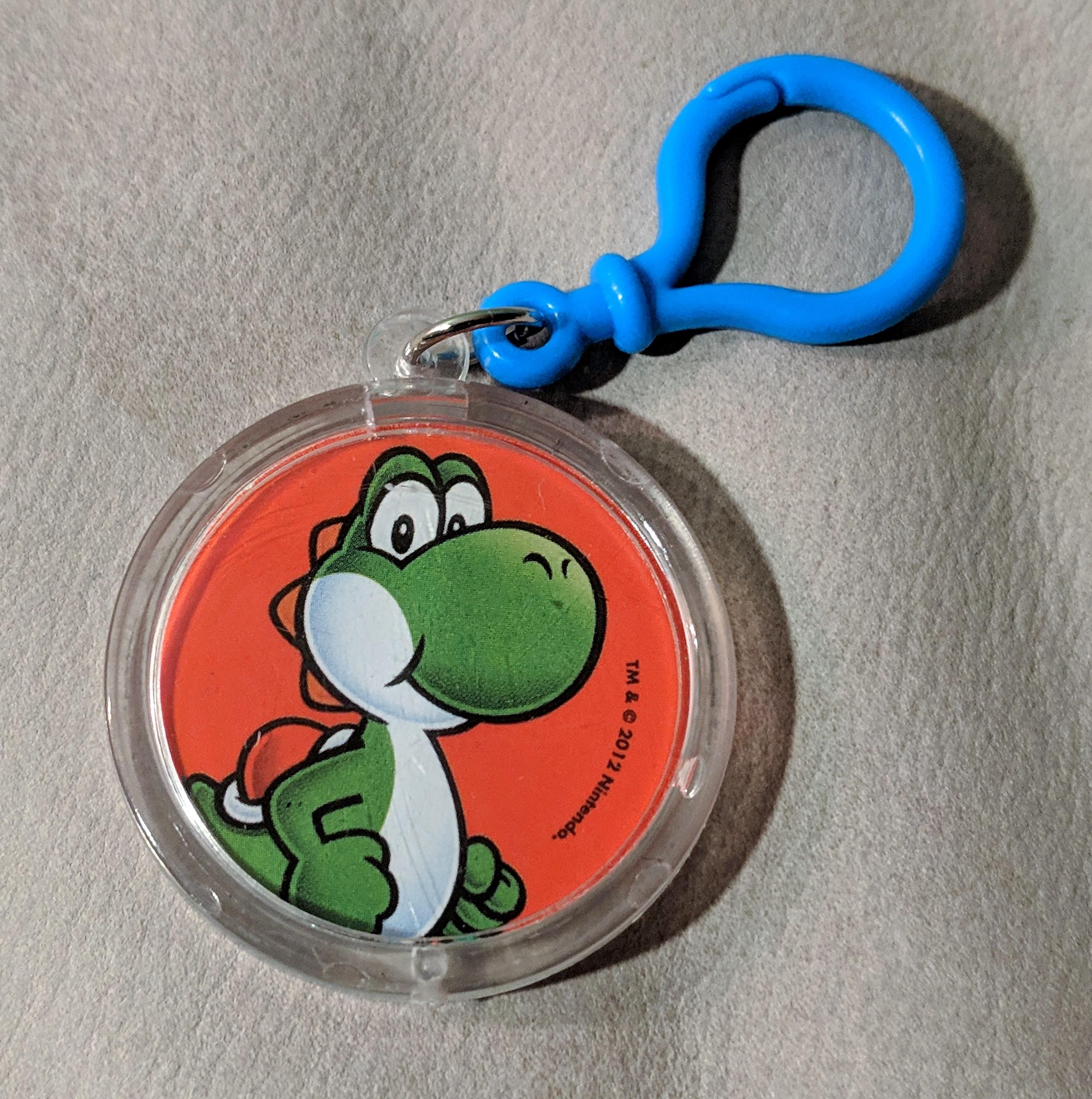 Yoshi Key Chain