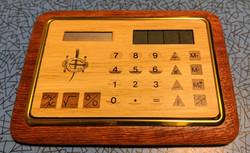 Wooden Calculator