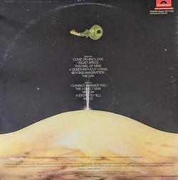Uri Geller Album Back