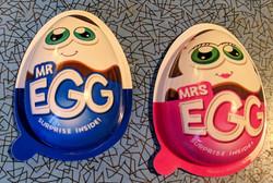 Mr & Mrs Egg