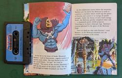 He-Man Book & Tape Skeletor