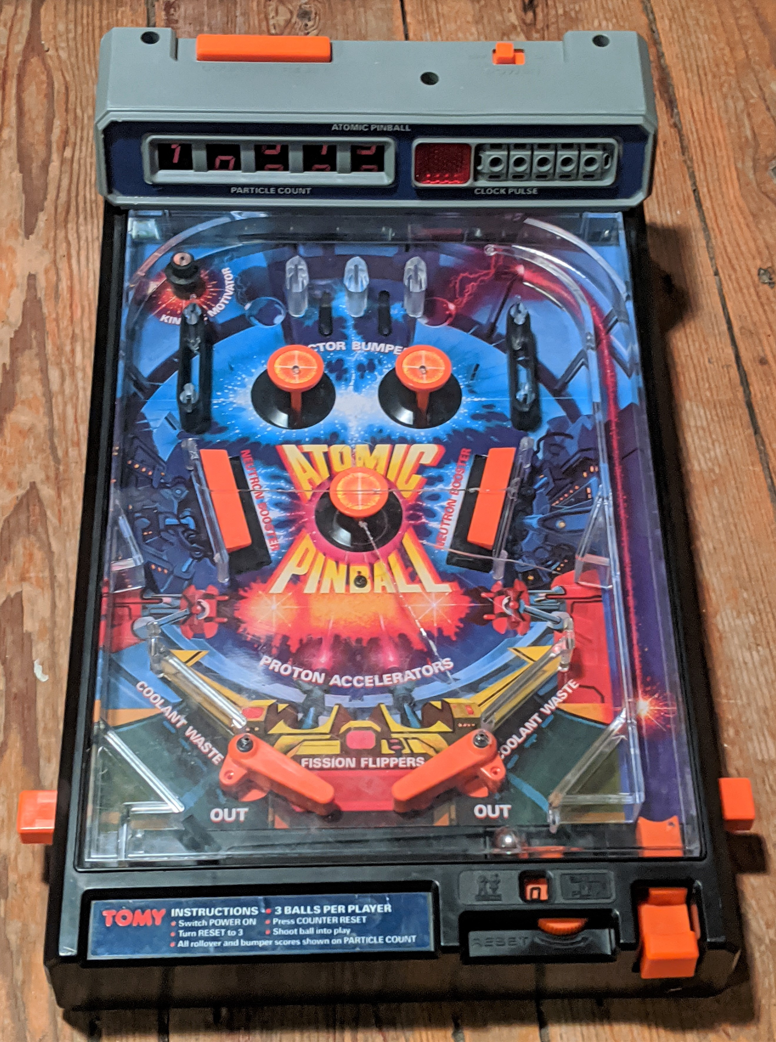 Atomic Pinball Game