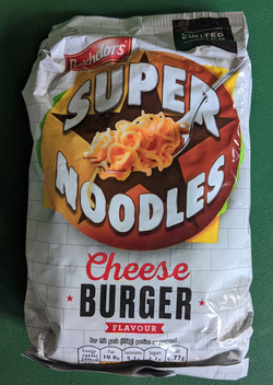 Super Noodles Cheese Burger Pack