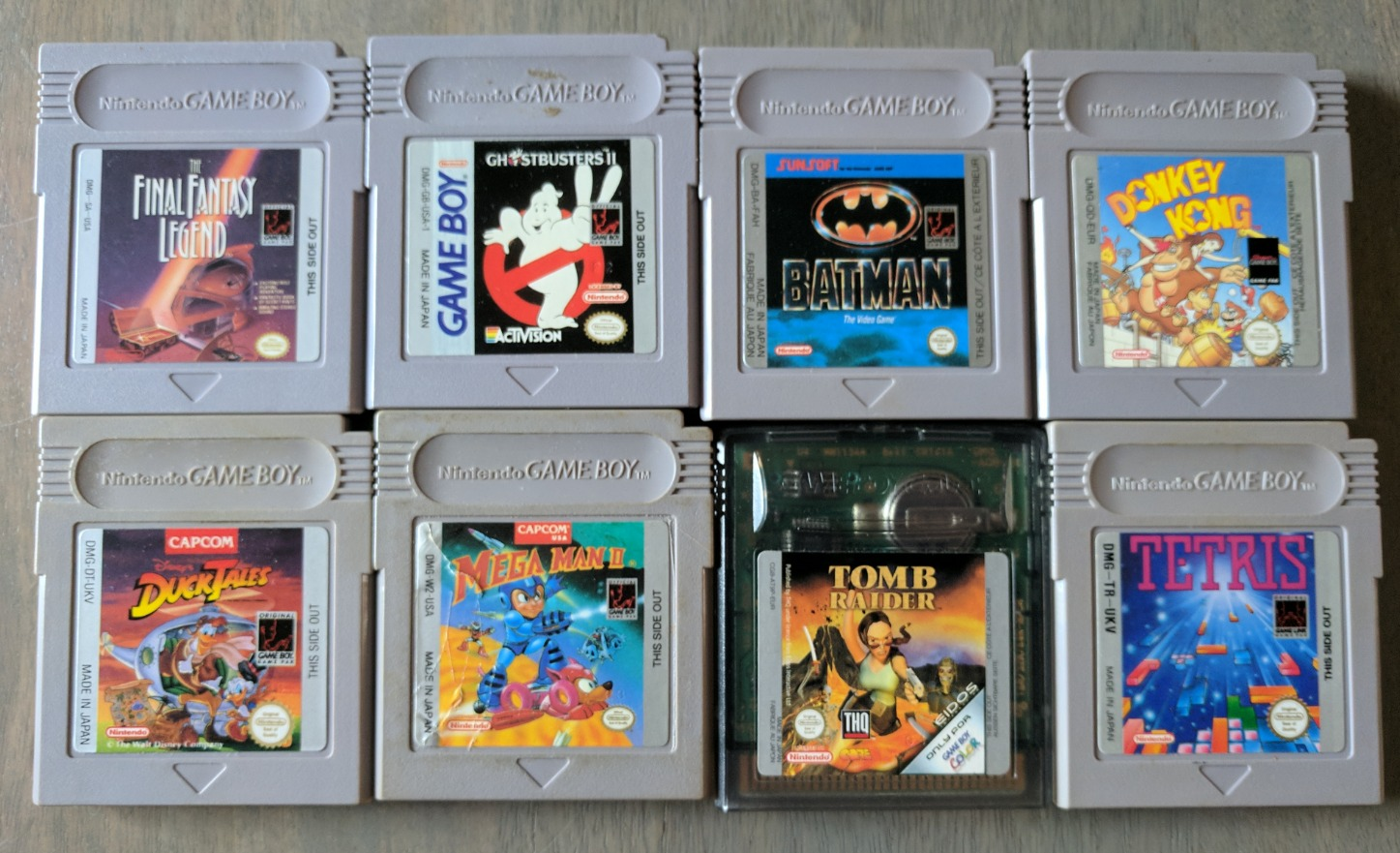 Game Boy Games 01