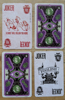 Haunted Mansion Cards 01