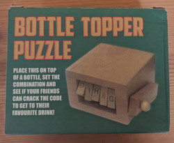 Bottle Puzzle Box