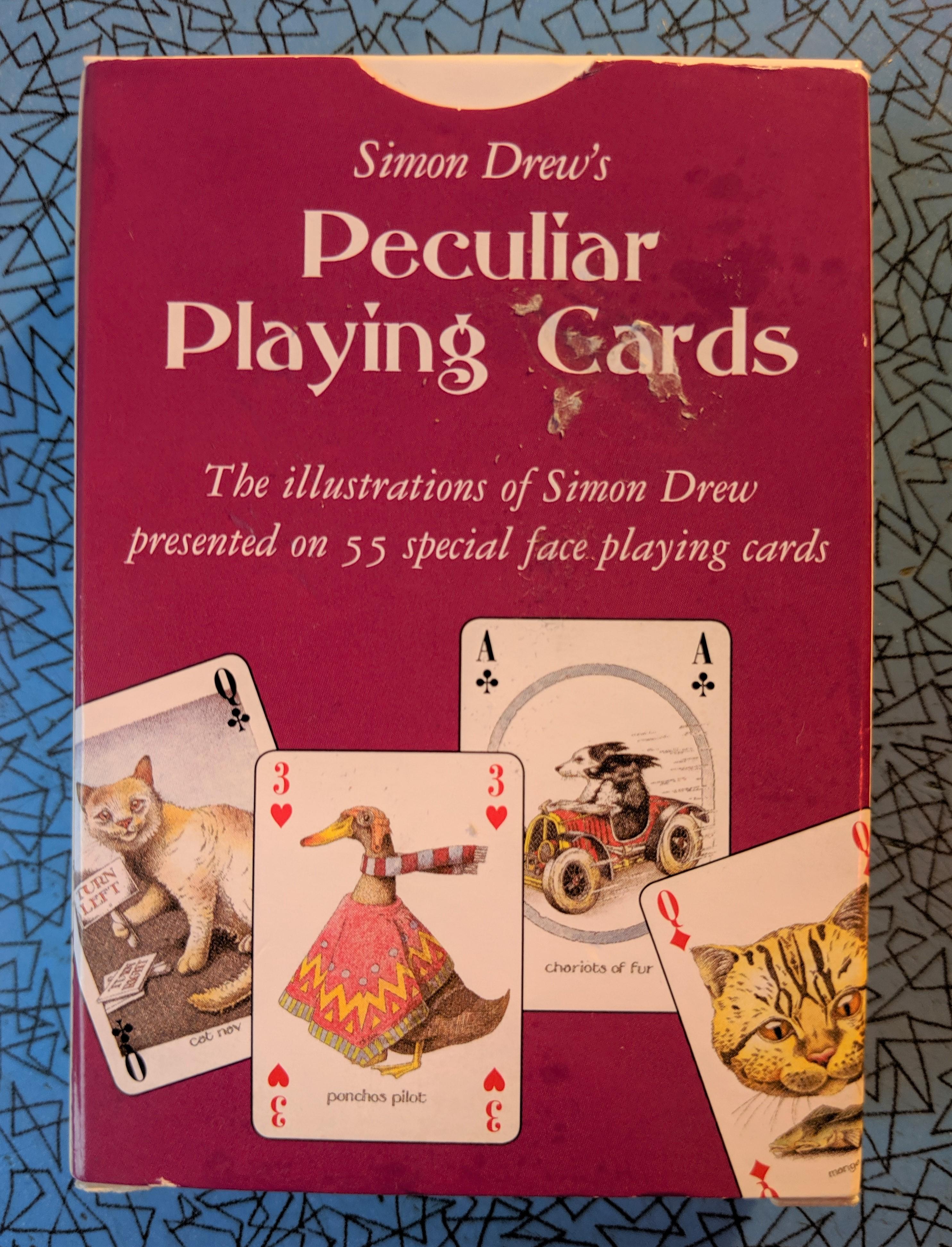 Simon Drew's Cards