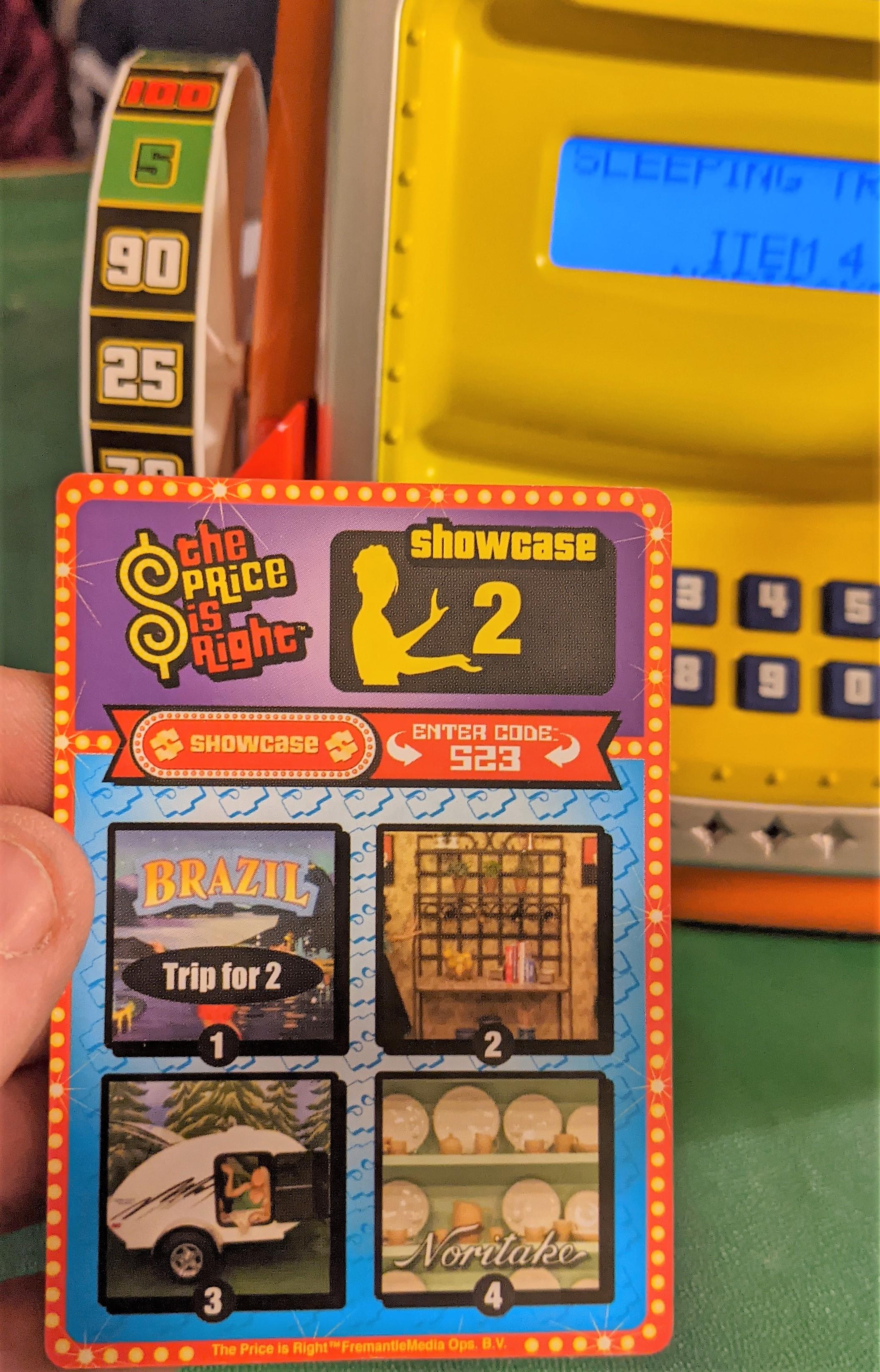 Showcase Showdown Card