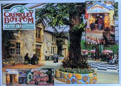 Crinkly Bottom Postcard