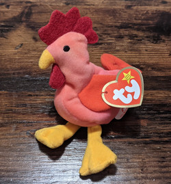 Beanie Baby Rooster