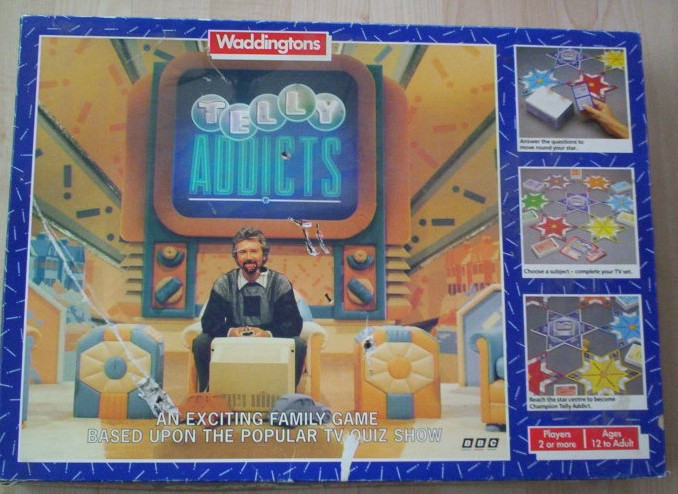 Telly Addicts Board Game