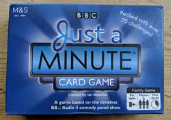 Just A Minute Game