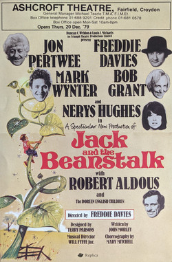 Panto Poster Jack BeanStalk
