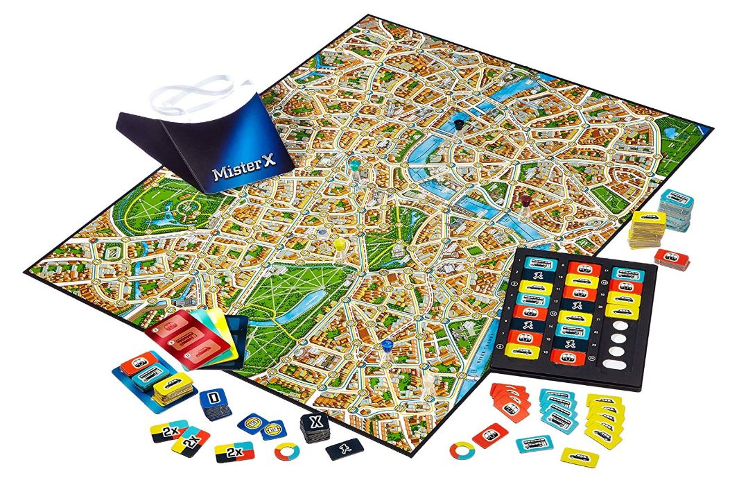 Scotland Yard Pieces