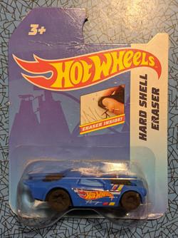 Hot Wheel Eraser