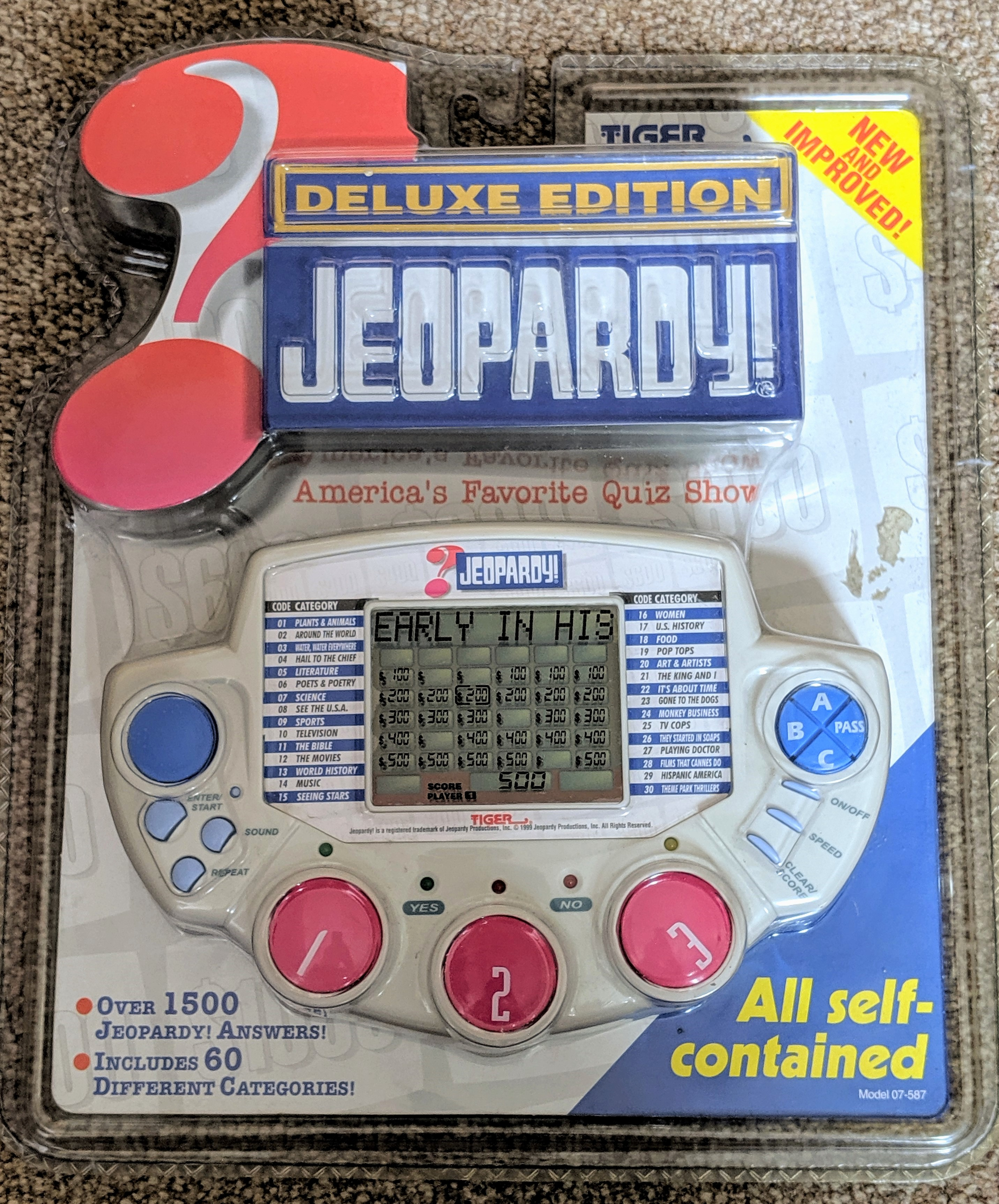 Deluxe Edition Jeopardy Game