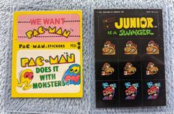 Kong 7 Pac Man Stickers