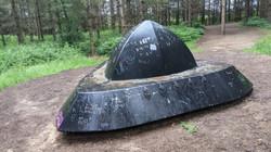 UFO and graffitti