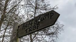 Heffalump Trap Sign
