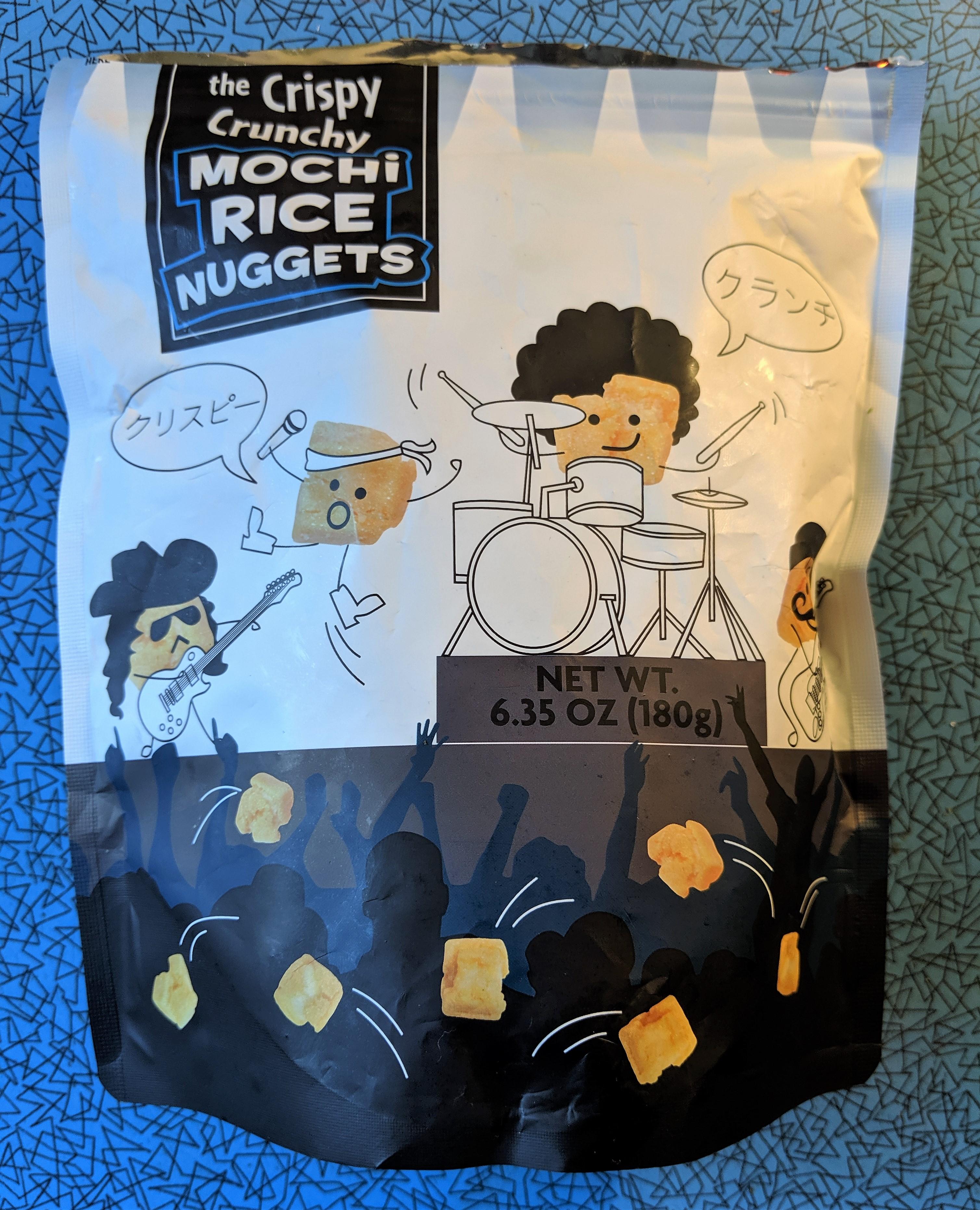 Mochi Rice Nuggets