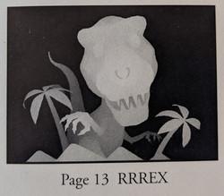 Magic Eye T Rex Image