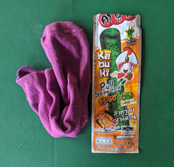 Sock in a packet