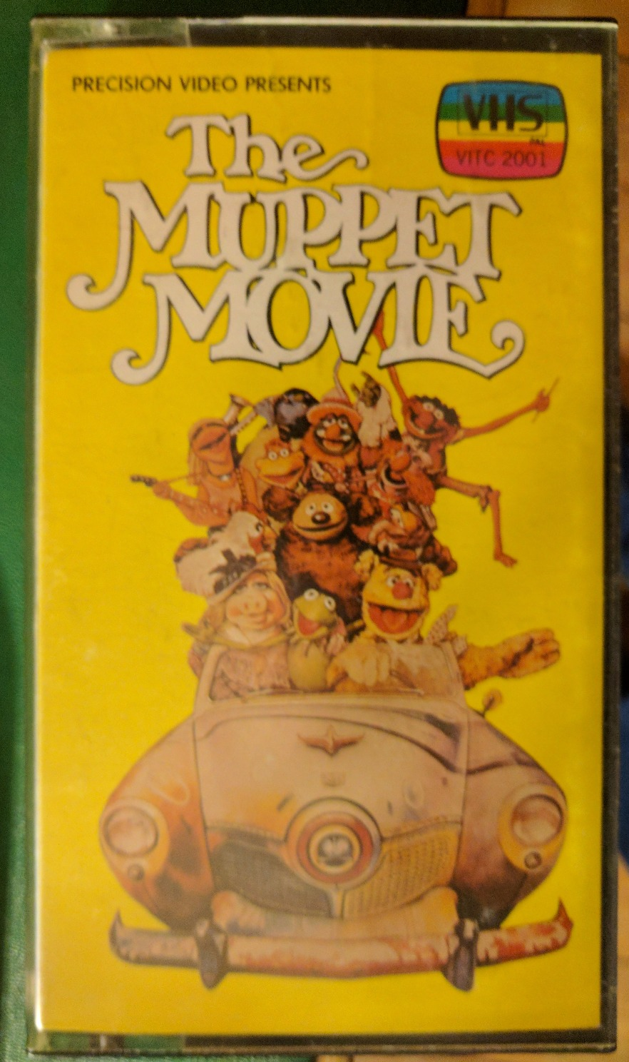 The Muppet Movie VHS_edited