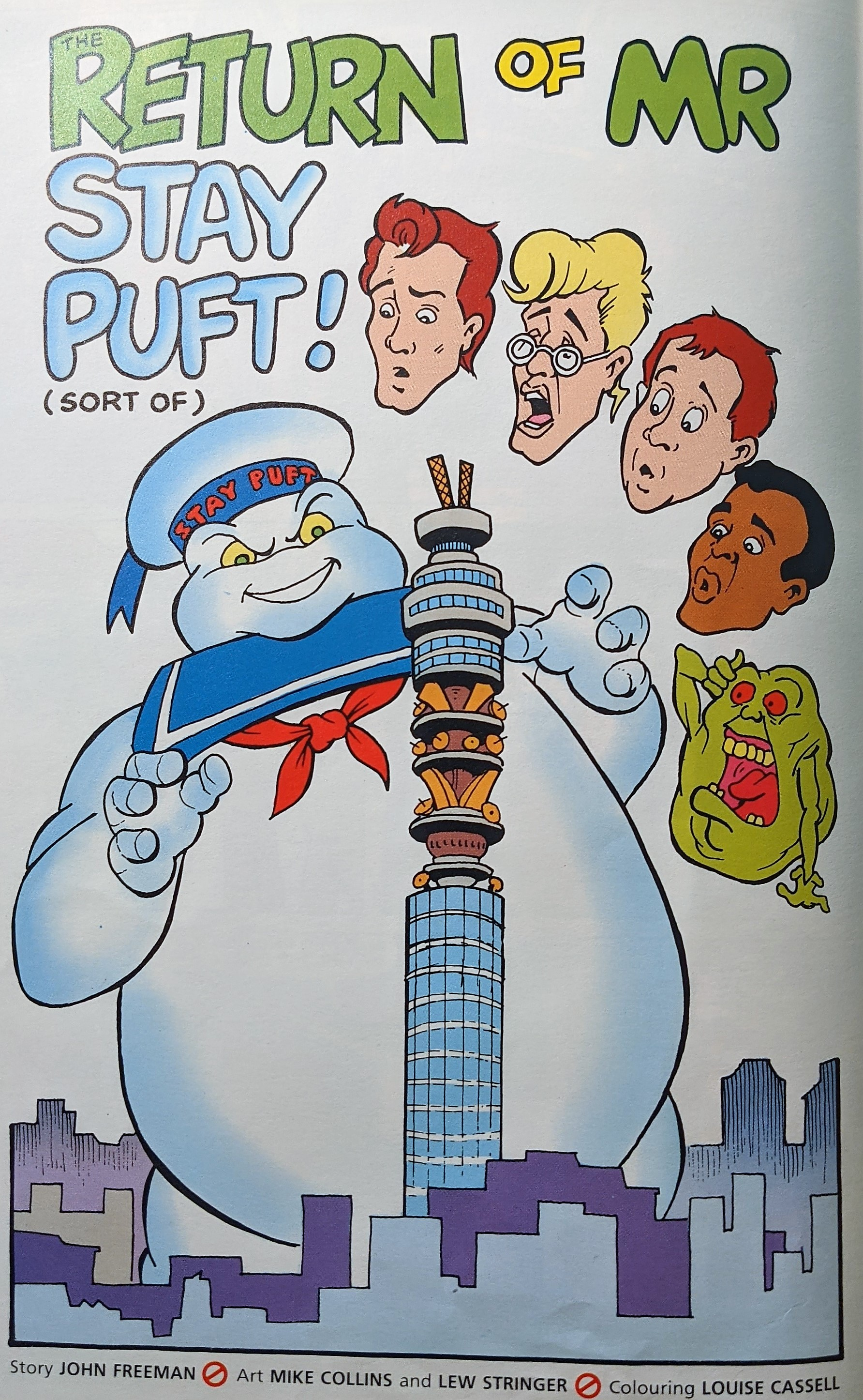 Stay Puft Vs BT Tower