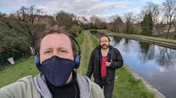 The Cheap Chaps walk New River