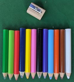Chunky Colour Pencils
