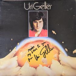 Uri Geller Album Front